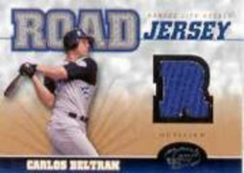 Photo of 2005 Leaf Home/Road Jersey #3R Carlos Beltran R