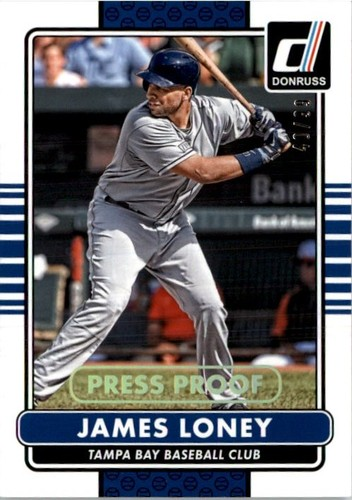 Photo of 2015 Donruss Press Proofs Gold #167 James Loney