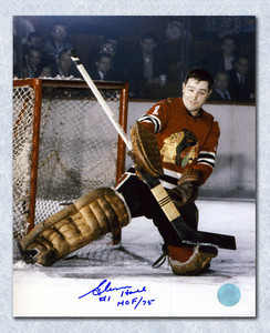 Glenn Hall Chicago Blackhawks Autographed 16x20 Photo