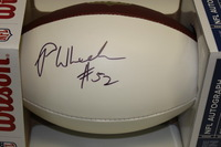 DOLPHINS - PHILIP WHEELER SIGNED DOLPHINS PANEL BALL