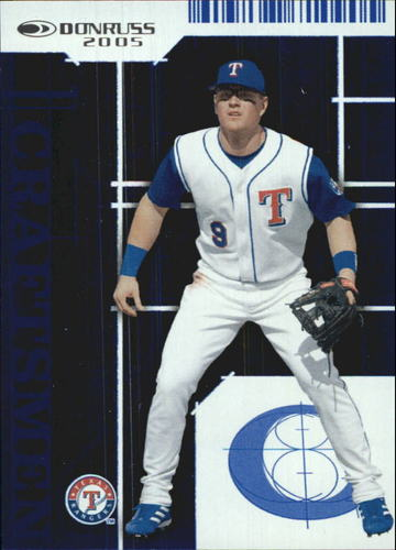 Photo of 2005 Donruss Craftsmen #8 Hank Blalock