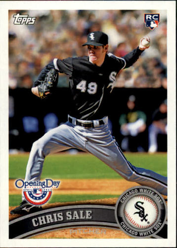 Photo of 2011 Topps Opening Day #31 Chris Sale RC