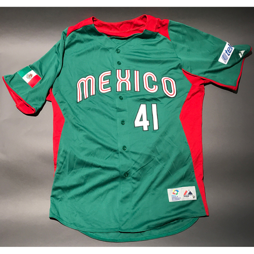 Photo of 2013 World Baseball Classic Jersey - Mexico Jersey, Marco Estrada #41