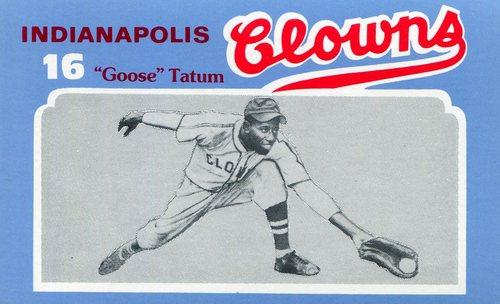 Photo of 1976 Laughlin Indianapolis Clowns #16 Reece(Goose) Tatum