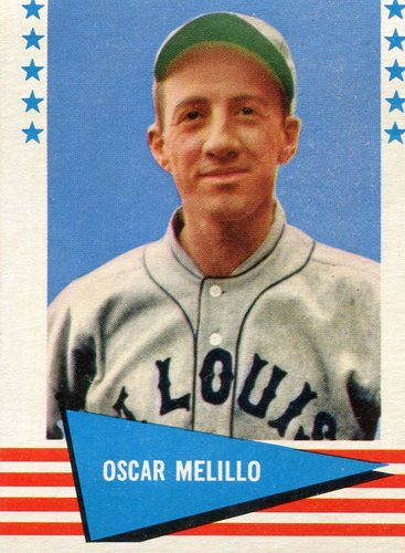 Photo of 1961 Fleer #127 Oscar Melillo