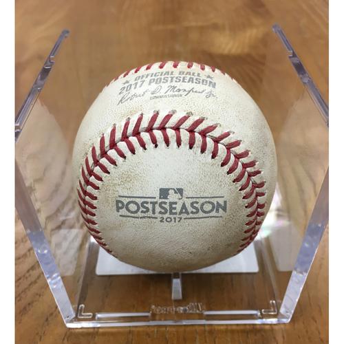 Photo of NLDS Game 1 Game-Used Baseball: Jon Jay Double