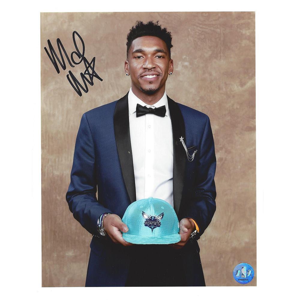 Malik Monk - Charlotte Hornets - 2017 NBA Draft - Autographed Photo