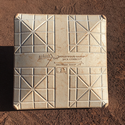 Photo of San Francisco Giants - 2017 Game-Used Base - October 1st Final Game - 3rd base innings 7-9