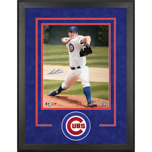 Mark Prior Chicago Cubs Framed Autographed 16