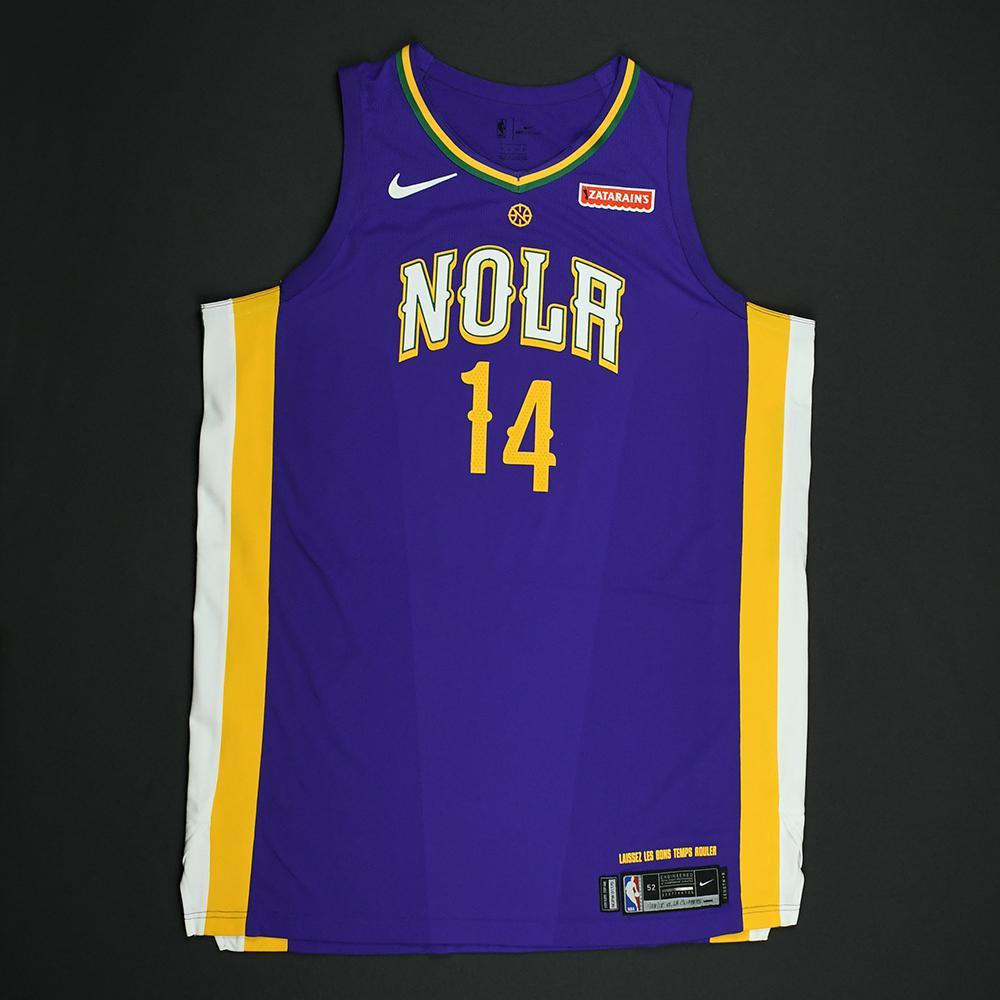 Jameer Nelson - New Orleans Pelicans - Game-Worn 'City' Jersey - 2017-18 Season