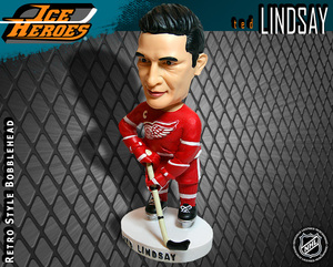 TED LINDSAY Detroit Red Wings Bobblehead