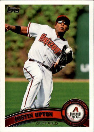 Photo of 2011 Topps #40 Justin Upton