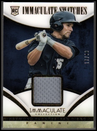 Photo of 2014 Immaculate Collection Immaculate Swatches #85 Reymond Fuentes/99