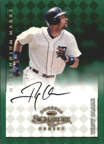Photo of 1998 Donruss Signature Autographs Millennium #23 Tony Clark