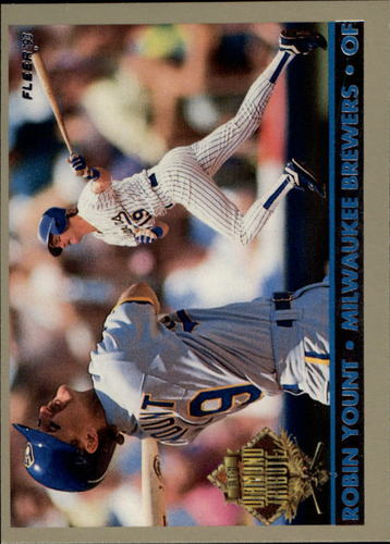 Photo of 1993 Fleer Final Edition Diamond Tribute #10 Robin Yount