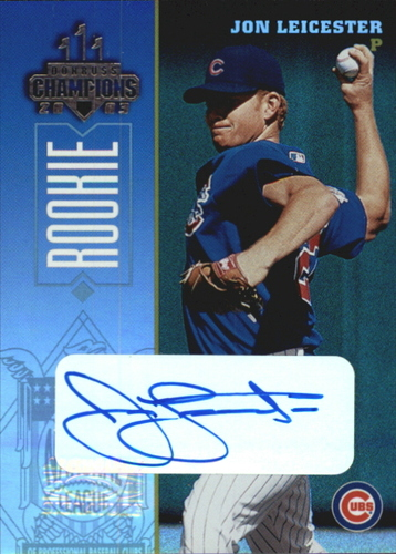 Photo of 2003 Donruss Champions Autographs #282 John Leicester/480