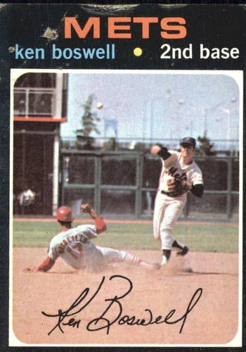 Photo of 1971 Topps #492 Ken Boswell