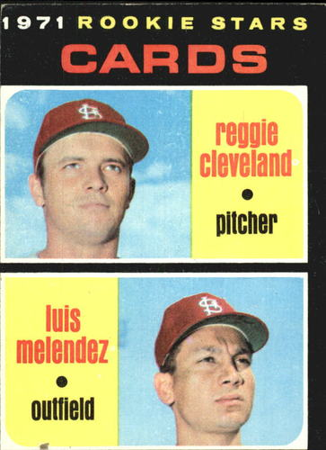 Photo of 1971 Topps #216 Rookie Stars/Reggie Cleveland/Luis Melendez RC