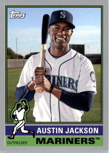 Photo of 2015 Topps Archives Silver #140 Austin Jackson