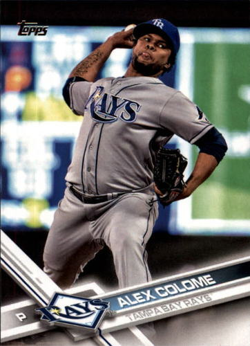 Photo of 2017 Topps #156 Alex Colome
