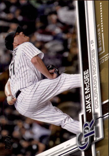 Photo of 2017 Topps Gold #180 Jake McGee