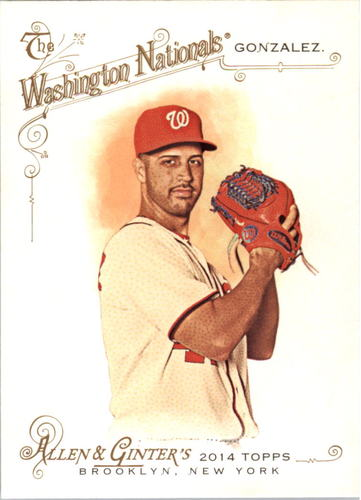 Photo of 2014 Topps Allen and Ginter #68 Gio Gonzalez