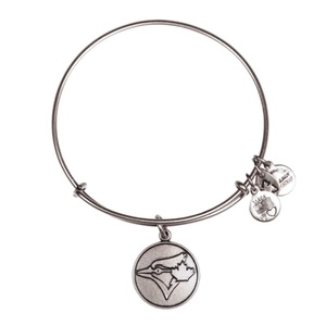 Toronto Blue Jays Bangle Bracelet Tonal Logo by Alex & Ani