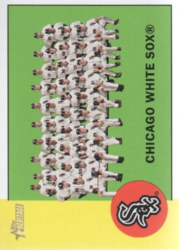 Photo of 2012 Topps Heritage #288 Chicago White Sox TC
