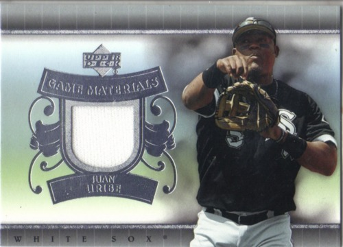 Photo of 2007 Upper Deck UD Game Materials #JU Juan Uribe Jsy S1
