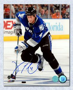 Vincent Lecavalier Tampa Bay Lightning Autographed Playmaker 8x10 Photo