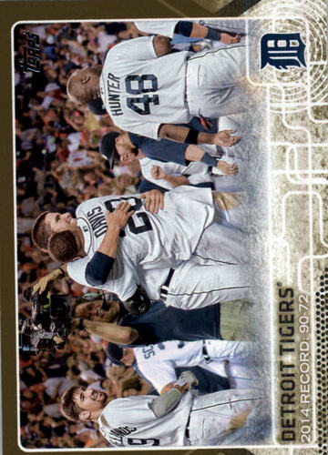 Photo of 2015 Topps Gold #126 Detroit Tigers