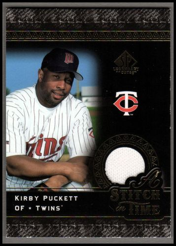 Photo of 2007 SP Legendary Cuts A Stitch in Time Memorabilia #KP Kirby Puckett