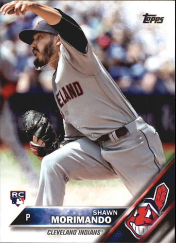 Photo of 2016 Topps Update #US85 Shawn Morimando RC