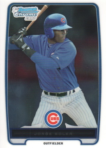 Photo of 2012 Bowman Chrome Prospects #BCP120 Jorge Soler