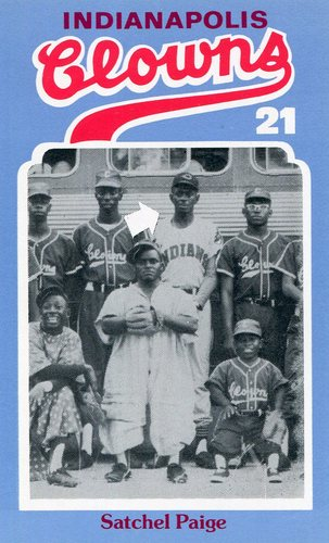 Photo of 1976 Laughlin Indianapolis Clowns #21 Satchel Paige