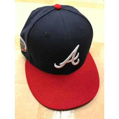 Photo of Johan Camargo Game-Used Cap - Worn July 1, 2017