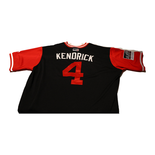 "Photo of Howie ""Kendrick"" Kendrick Washington Nationals Game-Used Players Weekend Jersey"