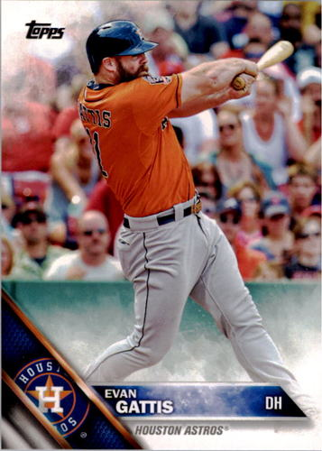 Photo of 2016 Topps #278 Evan Gattis -- Astros post-season