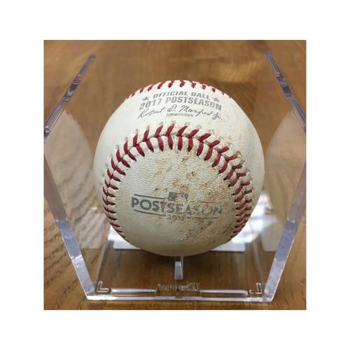 Photo of NLDS Game 2 Game-Used Baseball: Ryan Zimmerman Single