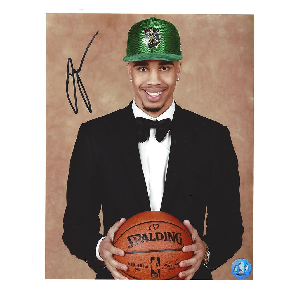 Jayson Tatum - Boston Celtics - 2017 NBA Draft - Autographed Photo