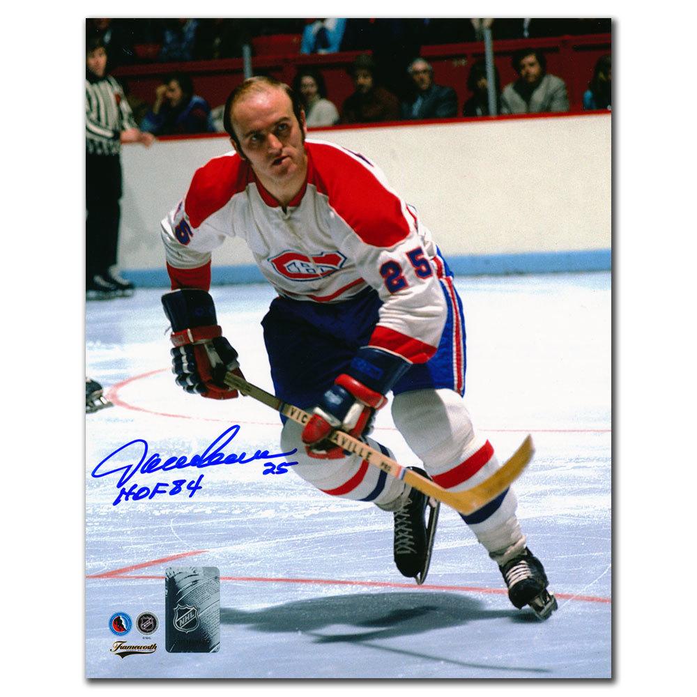 Jacques Lemaire Montreal Canadiens HOF RUSH Autographed 8x10