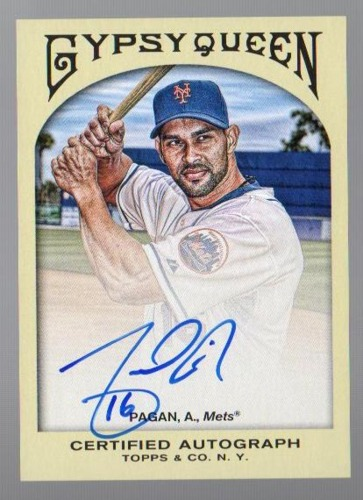 Photo of 2011 Topps Gypsy Queen Autographs #AP Angel Pagan