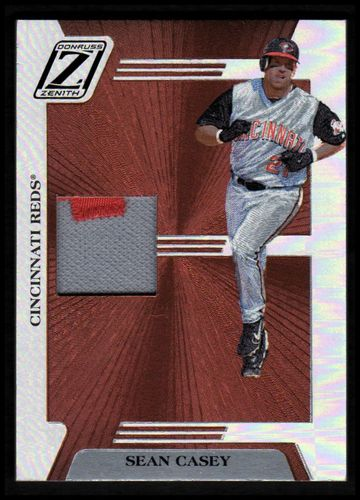 Photo of 2005 Zenith Z-Jerseys Prime #75 Sean Casey/150