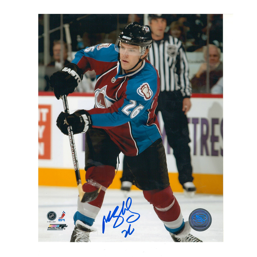 PAUL STASTNY Signed Colorado Avalanche 8 X 10 Photo - 70123