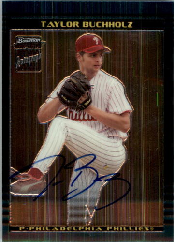 Photo of 2002 Bowman Chrome #400 Taylor Buchholz AU A RC