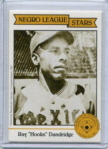 Photo of 1988 Negro LeagueDuquesne Light Co. #17 Ray(Hooks) Dandridge