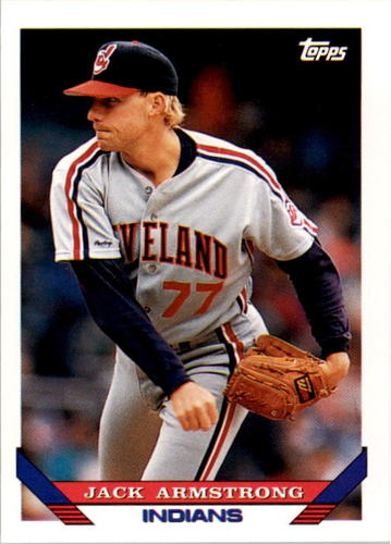 Photo of 1993 Topps #434 Jack Armstrong