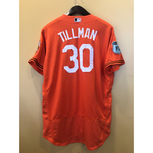 Photo of Chris Tillman - 2017 Spring Training Jersey: Team-Issued