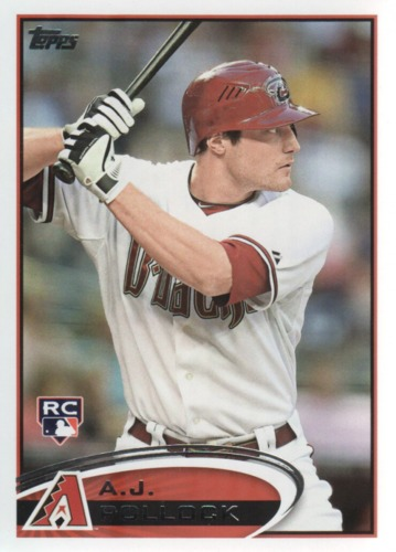 Photo of 2012 Topps Update #US319 A.J. Pollock Rookie Card -- D'backs post-season