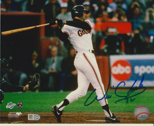 Photo of Will Clark Autographed 8x10
